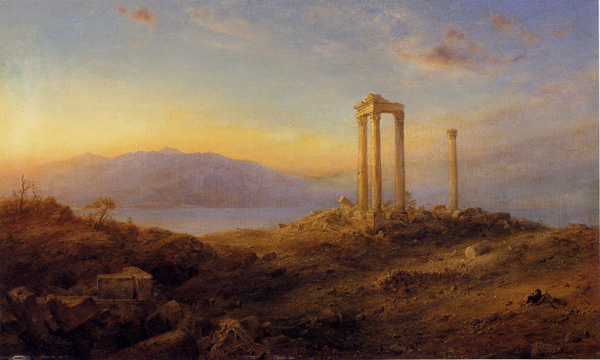 """Ruins at Baalbeck"" by Church"
