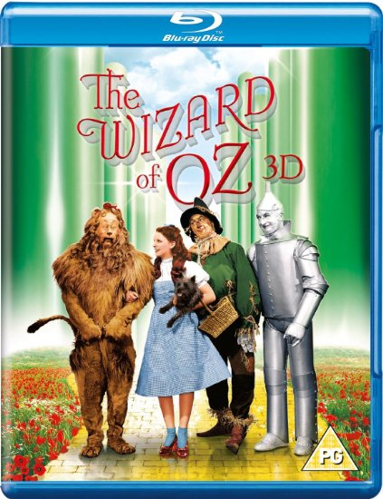 "Blue-ray of ""The Wizard of Oz"""