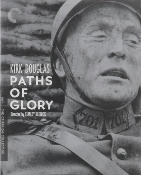 Paths of Glory blue-ray cover