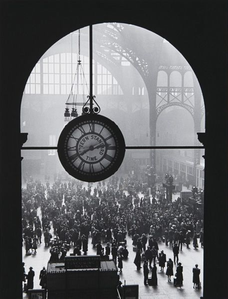Penn Station by Eisenstaedt