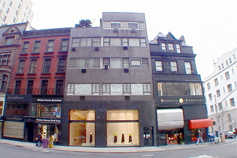 Pratesi boutique on Madison Avenue