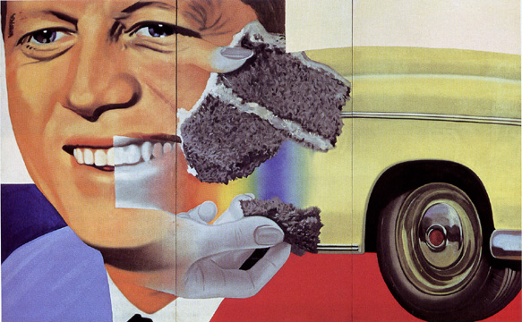 """President Elect"" by James Rosenquist"