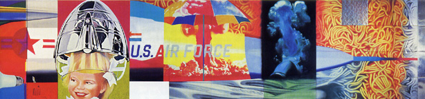 Right half of F-111 by Rosenquist