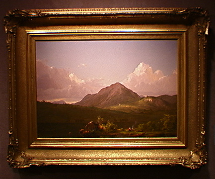 """Mount Desert Island"" by Frederic Edwin Church"