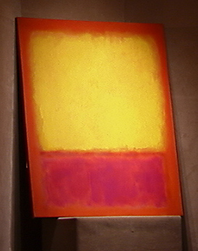 """Yellow Over Purple"" by Mark Rothko"