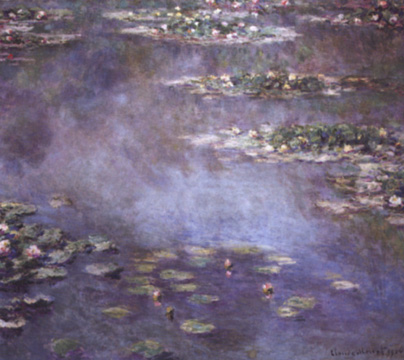 """Nymphéas"" by Claude Monet"