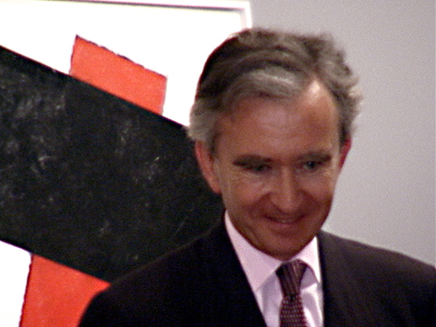 Bernard Arnault, owner of Phillips