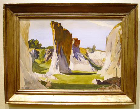 """Lime Rock Quarry II,"" by Hopper"