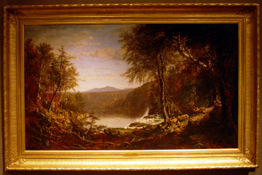 """Loon Lake, Adirondacks,"" by James Macdougal Hart"