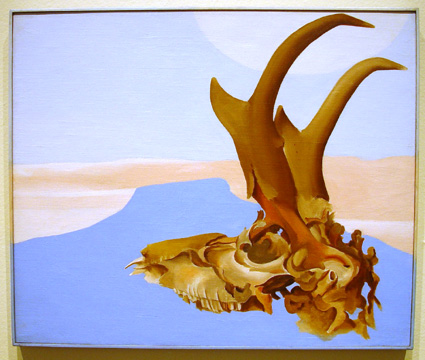 """Antelope Head with Pedernal"" by O'Keeffe"