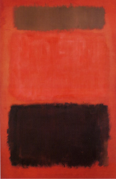 """Brown and Blacks in Reds"" by Mark Rothko"