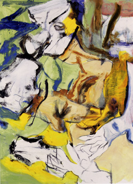 """Untitled"" by Willem de Kooning"