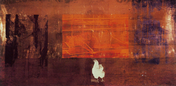 """Untitled (Copperhead) by Rauschenberg"