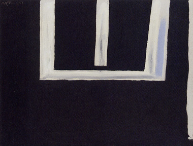 """Open No. 148"" by Motherwell"