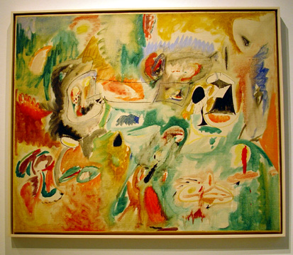 """Year after Year"" by Arshile Gorky"