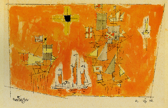 """Regatta"" By Feininger"