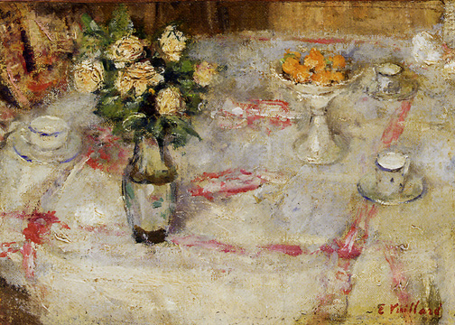 """Table dressée"" by Vuillard"