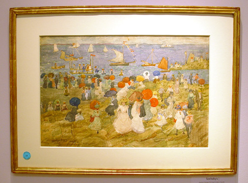 """Handkerchief Point"" by Maurice Prendergast"