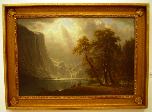 """Yosemite"" by Bierstadt"