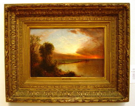 """The Setting Sun"" by Frederic E. Church"