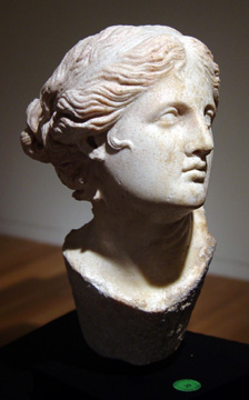 """Maenad or Niobe head"" Late Hellenistic/Early Roman Imperial"