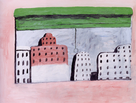 """Window"" by Philip Guston"