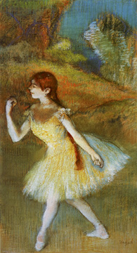 """Danseuse"" by Degas"