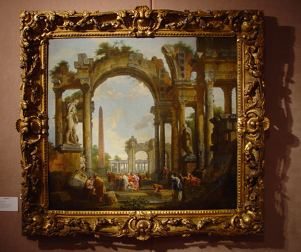 """Capriccio of Classical Ruins..."" by Panini"