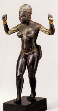 """Solomon Islands female figure"