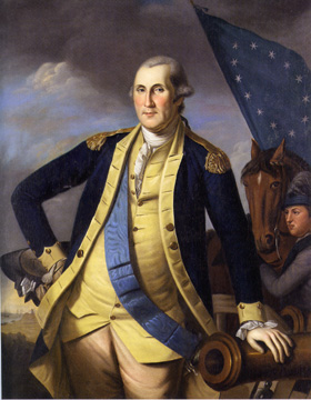 """George Washington"" by Charles Willson Peale"