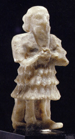 Mesapotamian gypsum male worshipper