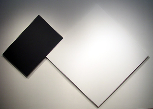 """White Black"" by Ellsworth Kelly"