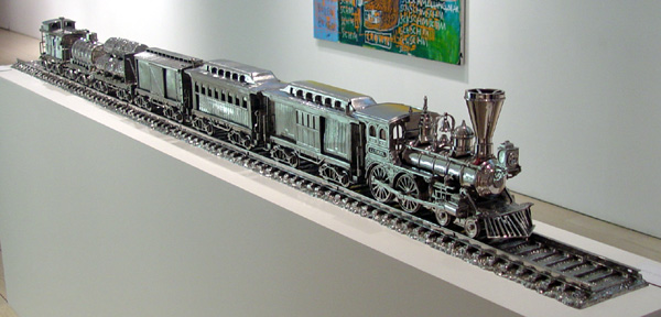 """Jim Beam J. B. Turner Train"" by Jeff Koons"
