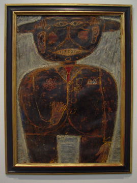 """Ancien Combattant"" by Jean Dubuffet"