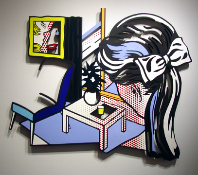 """Woman Contemplating A Yellow Cup"" by Roy Lichtenstein"