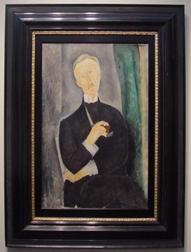 """Portrait de Roger Dutilleul"" by Modigliani"