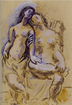 """Deux femmes"" by Picasso"