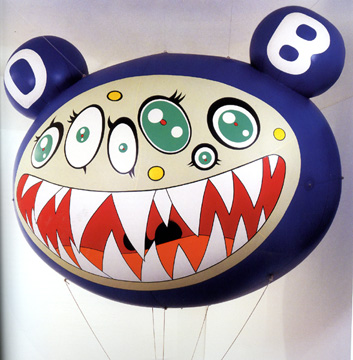 """Dob's march,"" by Takashi Murakami"