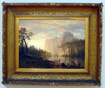 """El Capitain, Yosemite"" by Bierstadt"