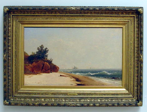 """On the Coast, Beverly Shore, Massachusetts"" by Kensett"