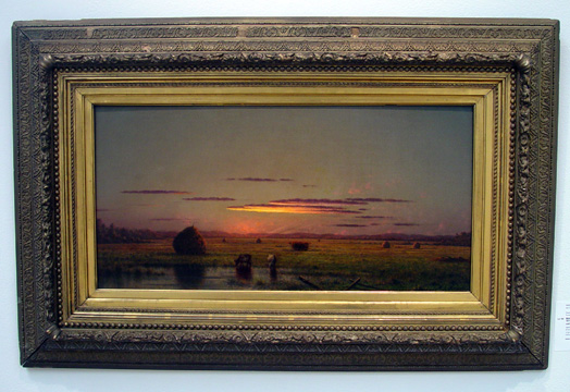"""Cattle in the Marsh"" by Heade"
