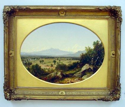 """Landscape: Mount Chocorua from Conway"" by Kensett"