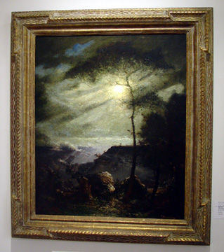 """Grand Canyon, Moonlight,"" by Dangerfield"