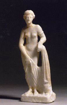 Figure of the Knidian Aprhodite, Roman