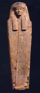 Wood coffin, Egyptian