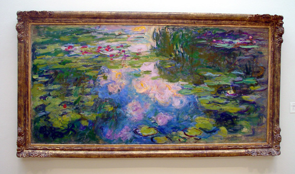 """Le Bassin aux Nympheas"" by Monet"