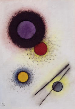 """Untitled"" by Kandinsky"