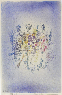 """Hauser Am Park"" by Klee"