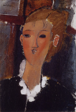"""Jeune Fille à La Collerette"" by Modigliani"