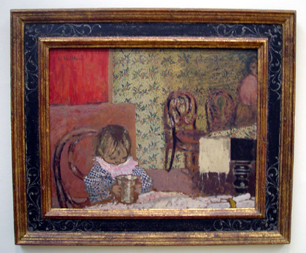 """Enfant � Table"" by Vuillard"